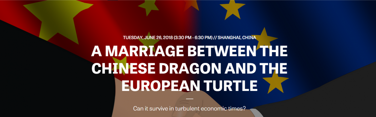 A MARRIAGE BETWEEN THE CHINESE DRAGON AND THE EUROPEAN